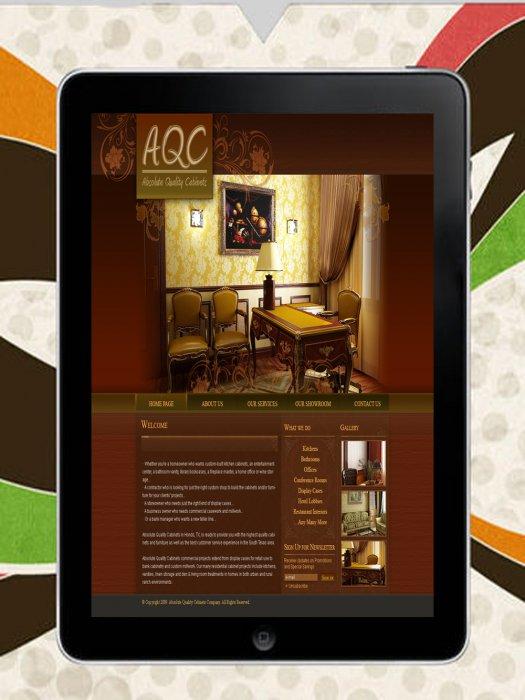 Сайт для Мебели